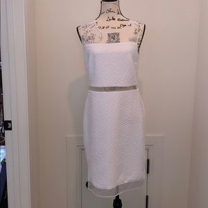 Calvin Klein white sleeveless dress size 10 NWT